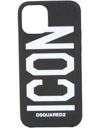 DSquared² Cover itm011833704319m063 poliuretano - Nero