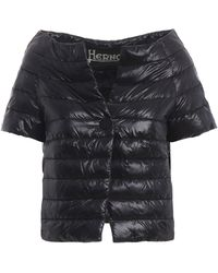 Herno Black Polyamide Down Jacket