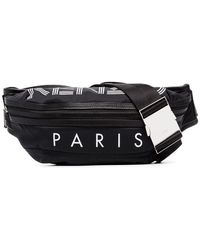 KENZO Black Polyester Travel Bag