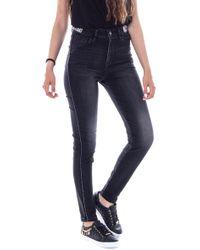 Desigual Black Cotton Jeans