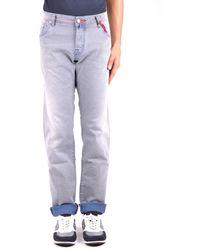 Jacob Cohen Cotton Jeans - Grey