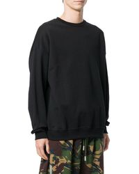 LES (ART)ISTS Sweatshirt mit Logo-Print - Schwarz