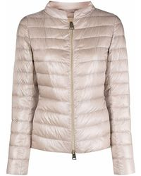 Herno Polyester Down Jacket - Pink