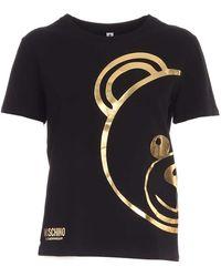Moschino T-shirt 19039010a0555 altri materiali - Nero
