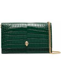 McQ Leather Shoulder Bag - Green