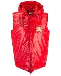 Burberry Polyamide Vest - Red