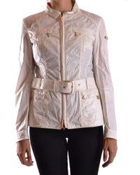 Geospirit White Polyester Jacket