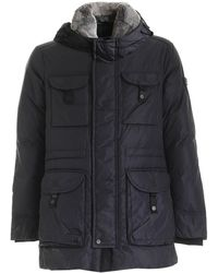 Peuterey Polyamide Coat - Black
