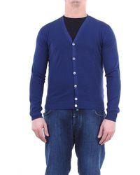 Zanone Knitwear Cardigan - Blue