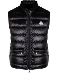 Moncler Black Polyamide Vest