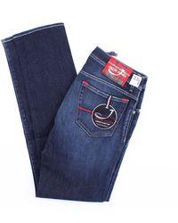 Jacob Cohen Dark Jeans Model 688 - Blue