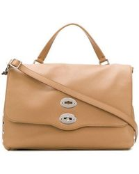 Zanellato Beige Leather Handbag - Natural
