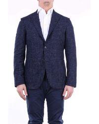 Boglioli Wool Blazer - Blue