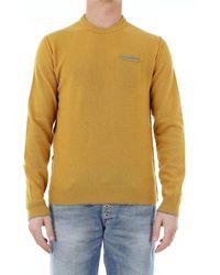 Woolrich Yellow Wool Sweater