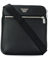 Emporio Armani Luxury Fashion Y4M185YLA0E81072 Schwarz Kunstleder Kuriertasche | Ss21