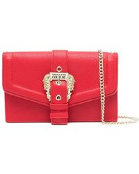 Versace Jeans Couture Polyurethane Pouch - Red