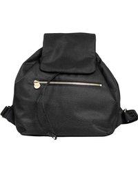 Borbonese Polyester Backpack - Black