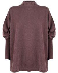 Fabiana Filippi Mad221w041n1282161 wolle sweater - Braun