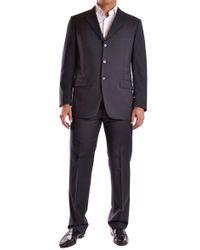 Burberry Black Wool Suit
