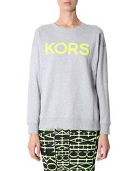 Michael Kors Gray Cotton Sweatshirt