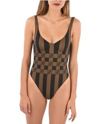 Fendi - Polyester One-piece Suit - Lyst