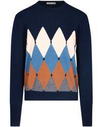 Ballantyne T2p00012ka893808 Wool Jumper - Blue