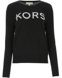 Michael Kors Cotton Jumper - Black