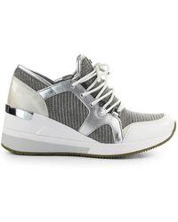 Michael Kors Schuhe Sneaker low LIV Materialmix - Weiß