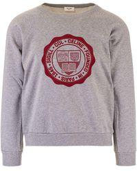 Celine Cotton Sweatshirt - Grey