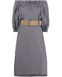 Brunello Cucinelli Cotton Dress - Black