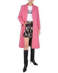 Boutique Moschino ANDERE MATERIALIEN TRENCH COAT - Pink