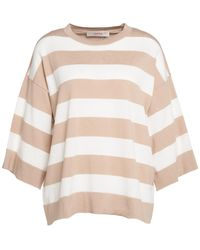 Jucca ANDERE MATERIALIEN SWEATER - Natur