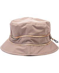 Alviero Martini 1A Classe - Beige Cotton Hat - Lyst