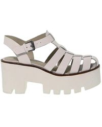 Windsor Smith Leather Sandals - White