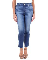 Pt05 Oa27c1vjmyz10den Viscose Jeans - Blue