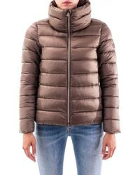 Save The Duck Polyamide Down Jacket - Brown
