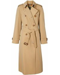 Burberry BAUMWOLLE TRENCH COAT - Natur
