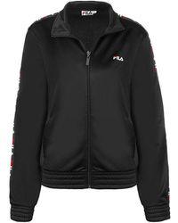 db226773 Black Polyester Sweatshirt