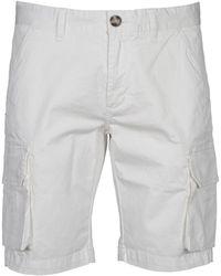 Sun 68 Cotton Shorts - White