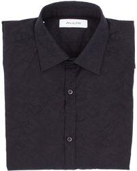 Aglini Black Cotton Shirt