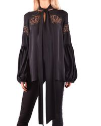 Givenchy Silk Blouse - Black