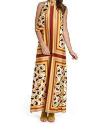 Maliparmi Yellow Polyester Dress