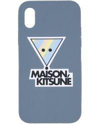 Maison Kitsuné GUMMI COVER - Blau
