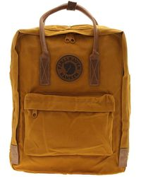 Fjallraven Yellow Polyester Backpack