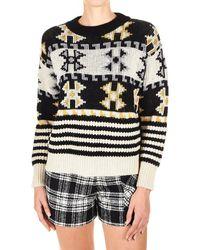 8pm Multicolour Acrylic Sweater