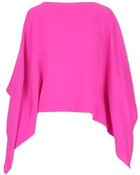 Valentino ANDERE MATERIALIEN TOP - Pink