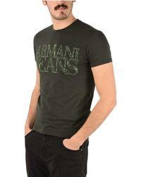 Armani Jeans Cotton T-shirt - Green