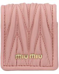 Miu Miu Other Materials Case - Pink