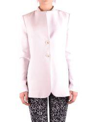 Twin Set White Polyester Blazer