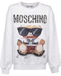 Moschino Other Materials Sweatshirt - White